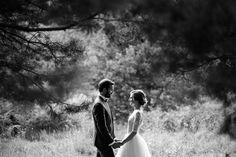 Pine forest bridal photoshoot Leśny plener ślubny www.annarenarda.com