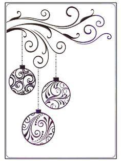 christmas cards drawing - Google zoeken