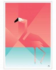 Flamingo-Poster