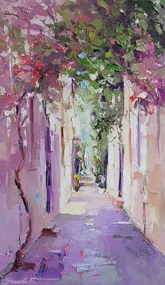 """Determine additional details on """"abstract art paintings diy"""". Browse through our web site. Impressionism Art, Acrylic Art, Pretty Art, Aesthetic Art, Painting & Drawing, Painting Canvas, Landscape Art, Art Inspo, Amazing Art"""
