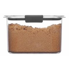 Rubbermaid Brilliance 7.8 Cup Pantry Airtight Food Storage Container : Target Dry Food Storage, Airtight Food Storage Containers, Kitchen Storage, Storage Ideas, Sugar Storage, Plastic Food Containers, Pantry Organization, Organizing, Pantry Ideas