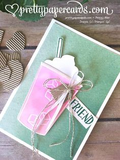 Ombre Pink Drink! - Pretty Paper Cards