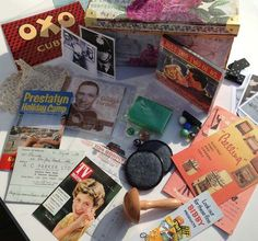 themed memory boxes for alzheimers and dementia | Dementia Workshop Products Around the 1950′s