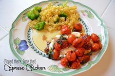 Moore babies: {Pinned there, Done That} Caprese Chicken
