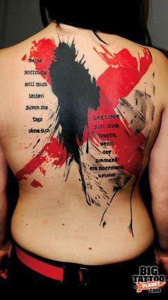 Simone Pfaff - Abstract Tattoo | Big Tattoo Planet