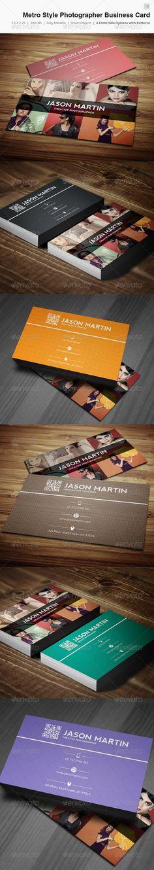 Metro Creative Photographer Business Card - 10