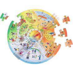 Puzzle - 4 ročné obdobia