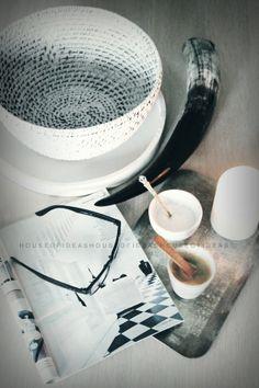 HOUSE of IDEAS coffe time, white http://myhouseofideas.blogspot.de/
