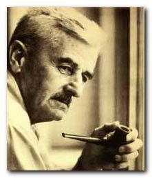 """William Faulkner's """"As I Lay Dying"""" is a brilliant piece of writing and one of my personal favorites. I feel a definite connection to the seemingly uncaring practicality of Faulkner's characters, and I love his use of multiple narrators to tell the stories of the other characters rather than their own. The rural south in the 1920's takes me back to my own roots and reminds me of my grandparents."""