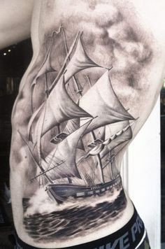 Realistic Nautical Tattoo by Josh Duffy Tattoo | Tattoo No. 11360