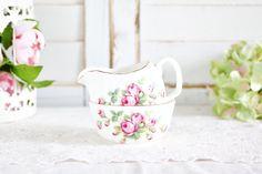 Vintage Adderley Creamer Sugar Set - Floral Creamer Sugar, English Creamer Sugar Set, Tea Party Creamer Sugar Set, Bone China Creamer Sugar