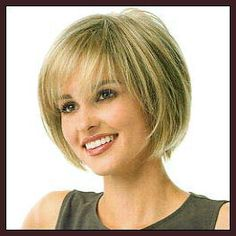 Short bob with fringe bangs - I like the fringe in front.  Not to heavy.  Not a bell type bob.
