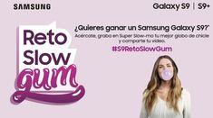 ¿Quieres ganar un Samsung #GalaxyS9? 📱 Haz tu mejor globo de chicle y diviértete con nosotros! #S9RetoSlowGum @SamsungEspaña.  Acércate a nuestras tiendas @orange_es de @CCSalera #Castellon y @alcampo Marratxí #Mallorca antes del 7 de abril. Ecards, Samsung Galaxy, Digital, Memes, Pageants, Chewing Gum, Prize Draw, Balloon, Tents