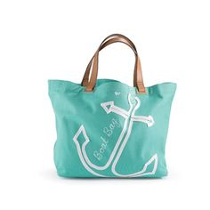 This boat tote is nautical fun  $135, www.islandhomepalmbeach.com