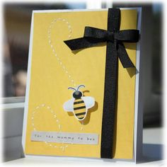 Mommy to Bee Card {hybrid}