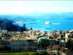 Corfu is a Greek island in the Ionian Sea. It is the second largest of the Ionian Islands and including its small satellite islands, forms the edge of the northwestern frontier of Greece. The island is part of the Corfu regional unit, and is administered as a single municipality.