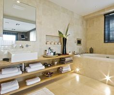 salle de bain de design élégant et zen