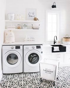 55 Beautiful Laundry Room Tile Design Ideas https://www.onechitecture.com/2017/09/23/55-beautiful-laundry-room-tile-design-ideas/