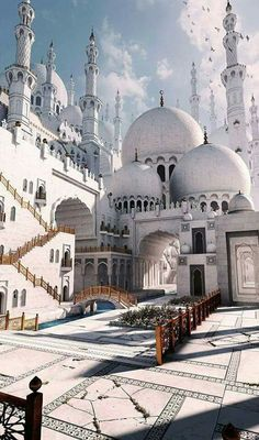 This masjid design looks simply amazing.