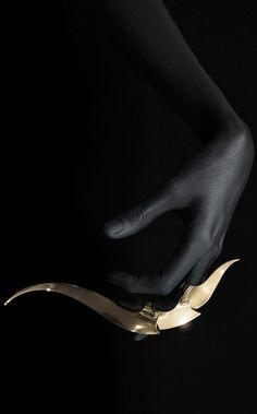 unusual #jewelry from Joji Kojima