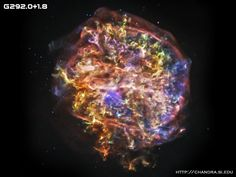 G292.0+1.8 is one of only three supernova remnants in the Milky Way known to contain large amounts of oxygen