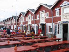 Skagen  restaurant on the harbor