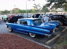 "Location: Car Cruise-In ""The Plaza At Davie"" FL.. 1960 T-Bird. Photographer: Tim Sims 04-03-2015"