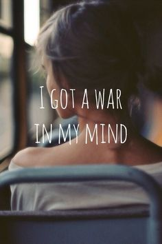 I got a war in my mind quotes quote girl mind girly quotes thinking girl quotes girl sayings girl quote and sayings Life Quotes Love, Girl Quotes, Quotes To Live By, The Words, Miracle Woman, Favorite Quotes, Best Quotes, 2am Quotes, Magic Quotes