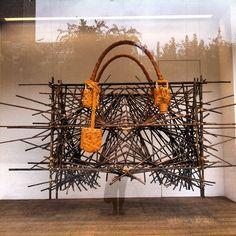 """LOEWE,Shanghai,China, """"Using Raw Materials"""", pinned by Ton van der Veer"""