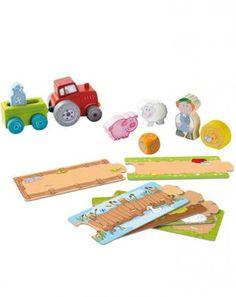 Spielset - Mit dem Traktor unterwegs