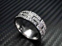 60 Breathtaking & Marvelous Diamond Wedding bands for Him & Her ... Diamond Wedding Bands For Men └▶ └▶ http://www.pouted.com/?p=32653