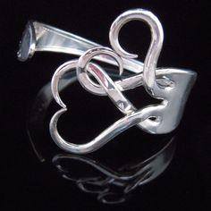 DIY fork bracelet