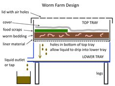 Worm Farm Design