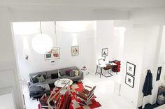 Cool home for sale in central Stockholm - emmas designblogg