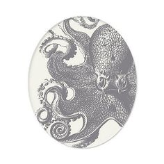 Maritime Octopus Tray design by Thomas Paul ($26) ❤ liked on Polyvore