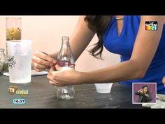 ¿Cómo hacer de una botella un vaso? - YouTube