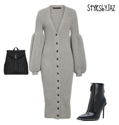 """"""""""" by harrisjazmin on Polyvore featuring Alexander Wang and Yves Saint Laurent"""