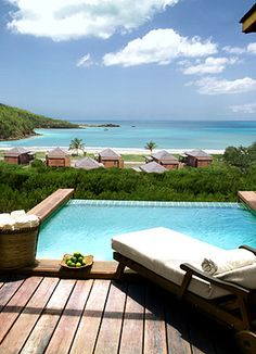 yes please! the view from Suite 21 at Hermitage Bay #Antigua