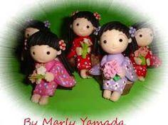 Resultado de imagen para geisha en porcelana fria