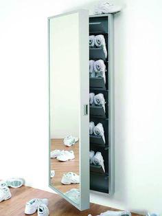 Kristalia shoe cabinet Foot Box - from stock! - Kristalia shoe cabinet Foot Box – from stock! Decoration Ikea, Shoe Storage Cabinet, Hallway Decorating, Shoe Rack, Diy Furniture, Small Spaces, Room Decor, Shelves, House Design