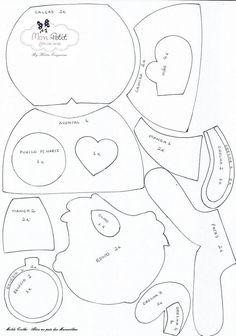 3 Moldes para hacer a santa claus patrones para hacer muñecos navideños de santa claus Related Post Almohadas para niños con moldes Moldes para hacer una cuna para bebe paso a paso Moldes de figuras de la sirenita el fieltro Moldes para hacer duendes navideños en fieltro pa...