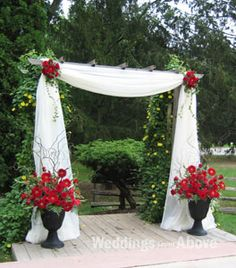 Wedding Ceremony Decoration :: Wedding Decoration in Toronto and GTA :: Weddings From Above