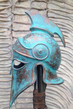 Spartan Helmet Greek Larp Helmet Cosplay Helmet Props for Movies Replica Props Greek Helmet Ancient Аrmor Ancient Mask 300 Rise of an Empire Larp, Cosplay Helmet, Helmet Armor, Greek Pottery, Pottery Art, Ancient History, Art History, History Photos, Spartanischer Helm