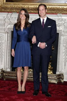 Kate Middleton - Clarence House Announce The Engagement Of Prince William To Kate Middleton