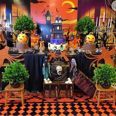 Festa Halloween super bacana por @lubcavalcanti  #kikidsparty