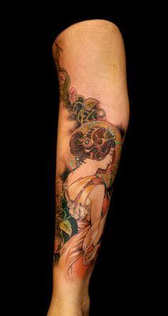 Chronic Ink Tattoo, Toronto Tattoo - Work done by Joe( Csaba)