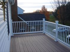 239 Best Vinyl Railing Images On Pinterest Vinyl Railing