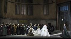 Lohengrin from the Welsh National Opera 2013. Production and designs by Antony McDonald.