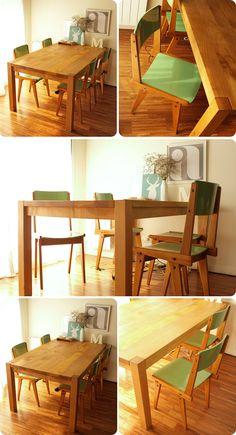 que linda mesa y que lindos colores
