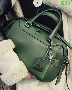 Luxe glove-tanned leather gets a bit of a biker edge in our new Ace Satchel, just arrived in jewel-toned colors for fall.